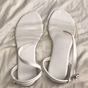 Forever 21 clear sandals